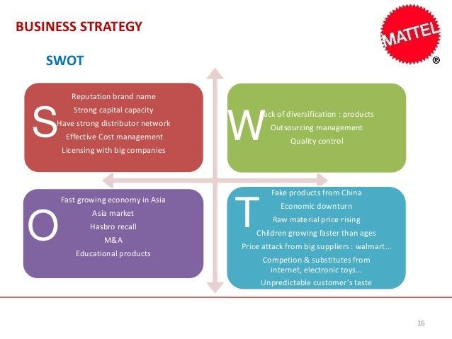 mattel executive summary