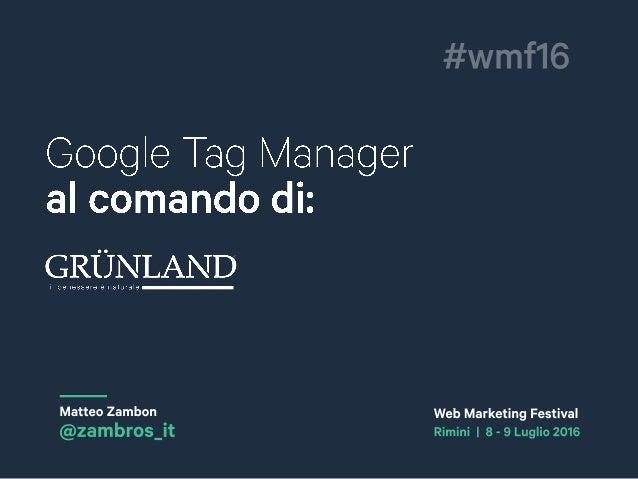 Web Marketing Festival 2016 RIMINI |8E9LUGLIO |4^EDIZIONE