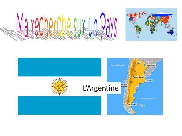 Le nom du paysL'Argentine