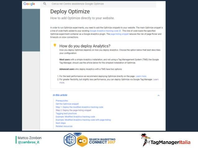 Bzzzz… bzzz… ma Google Analytics?