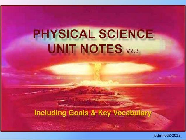 Including Goals & Key Vocabulary jschmied©2015