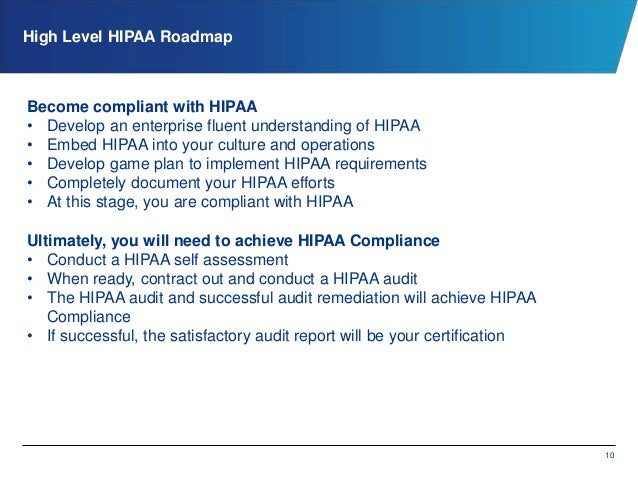 The startup path to hipaa compliance - Associate compliance officer ...