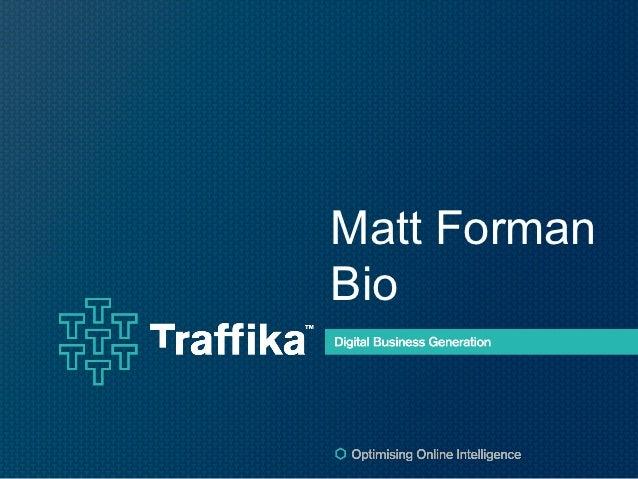 Matt FormanBio