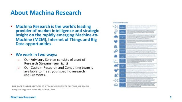 Matt Hatton - 7 Numbers You Need to Know about IoT -  Machina Research Slide 2