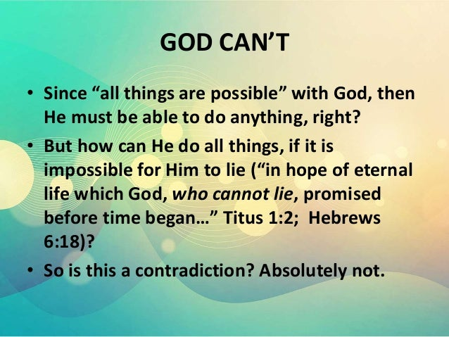 SALVATION:WITH MEN IT IS IMPOSSIBLE, BUT WITH GOD, IT IS ...
