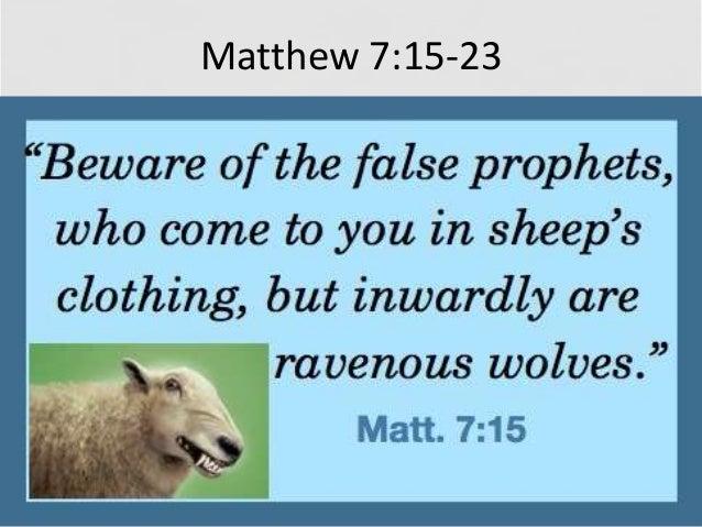 Matthew 7 Sign Wonder Prayer Judging Hypocrite Dogs