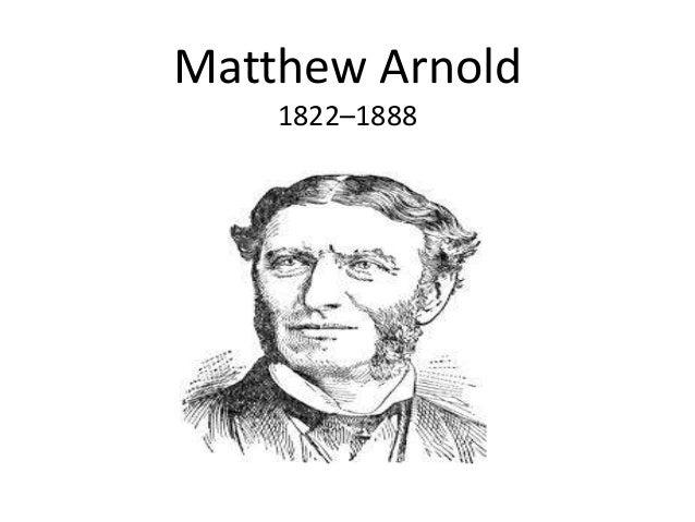 Matthew Arnold - Wikiquote