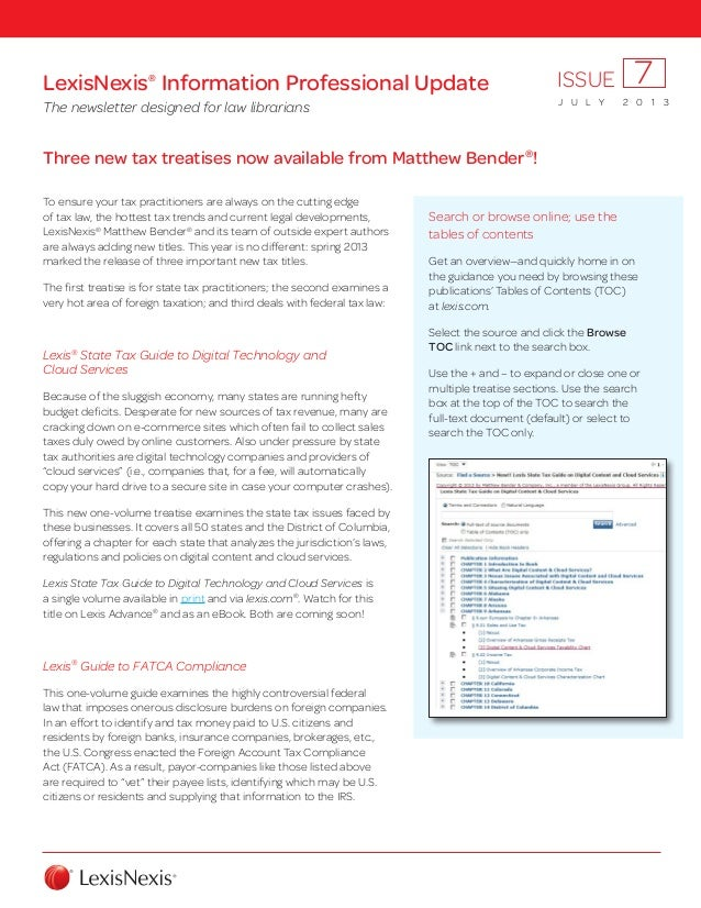 Three new tax treatises now available from Matthew Bender® ! To ensure your tax practitioners are always on the cutting ed...