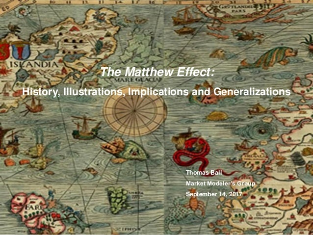 the matthew effect outliers summary
