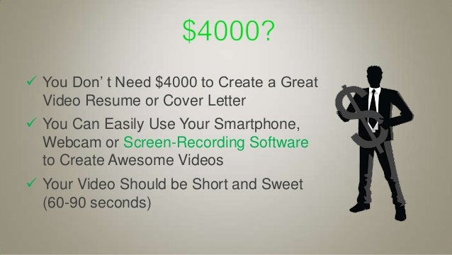SlideShare  Video Resume Tips