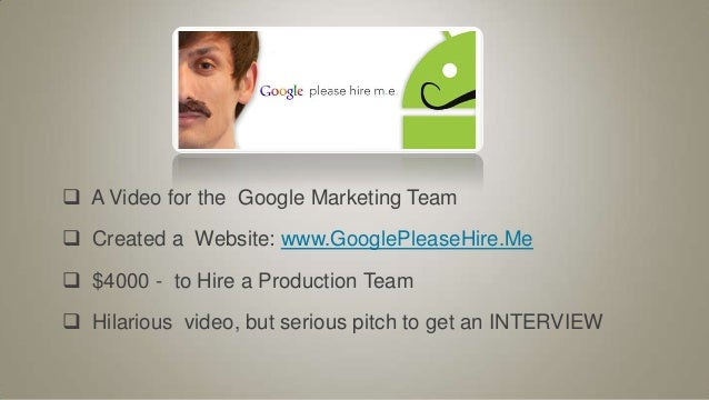 SlideShare  Video Resume Website