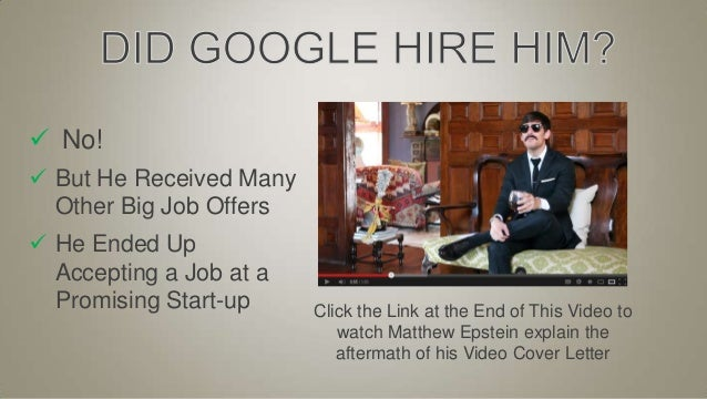 Video Resume its The Best Video Resume Ever