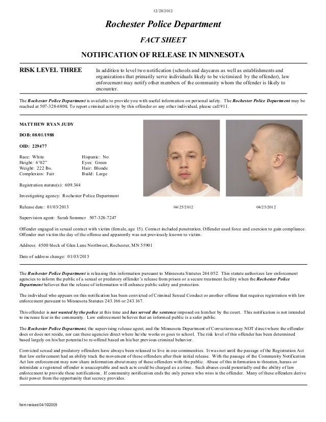 12/28/2012                                             Rochester Police Department                                        ...