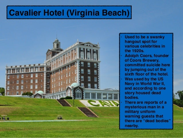 Most Haunted Places in Virginia, from Matthew Ludwick