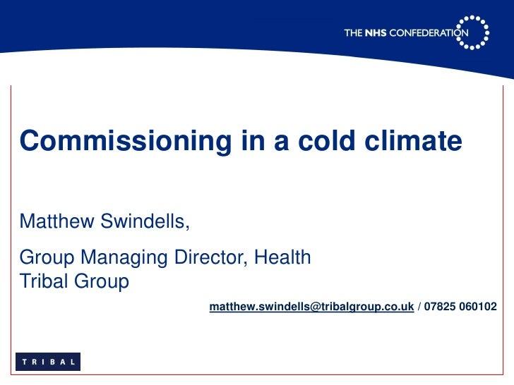 NHS Confederation Presentation June 2009