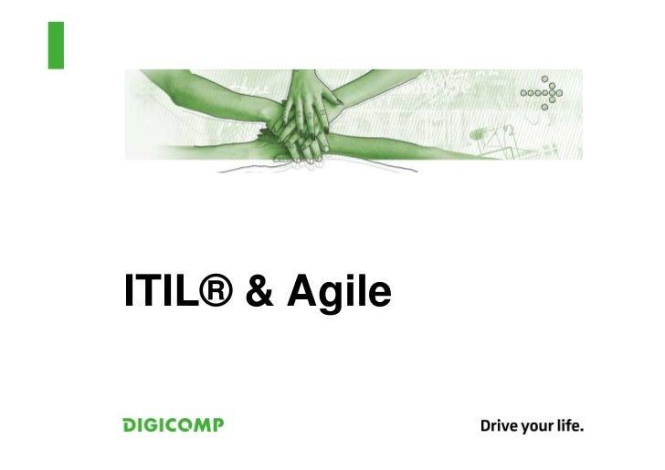ITIL® & Agile