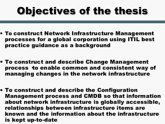 thesis organizational change management