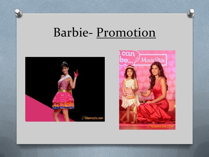 Barbie Marketing Mix (4Ps) Strategy