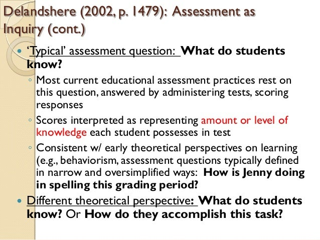 supporting learning and assessment in practice Several of the accounts described in this section involve both self-assessment and peer-assessment,  practice assessment  supporting student's learning.