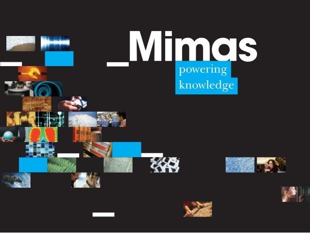 Matt Ramirez Mimas AR Developer, University of Manchester A Study in SCARLET mimas.ac.uk