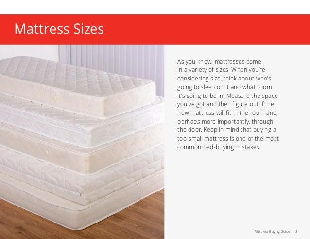 mattress buying guide 2 3