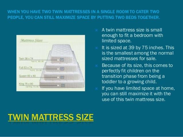 full size mattress two people. 2. TWIN MATTRESS SIZE WHEN YOU HAVE TWO Full Size Mattress Two People I
