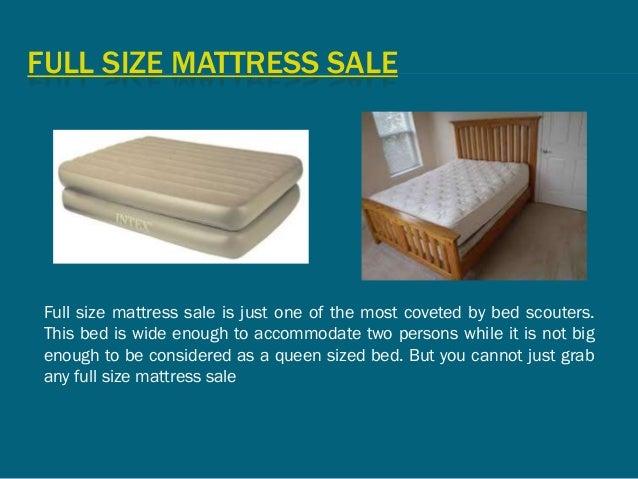 Full Size Mattress Sale