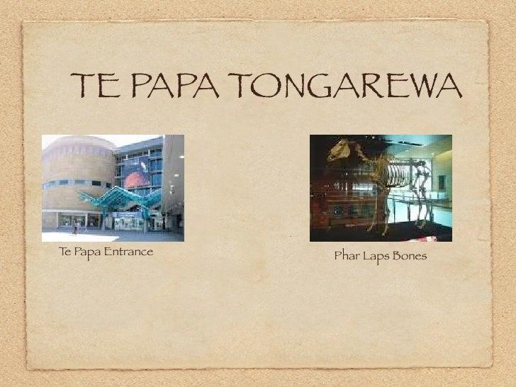 TE PAPA TONGAREWA    Te Papa Entrance   Phar Laps Bones