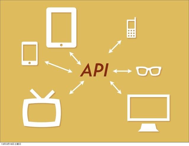 API13年3月16日土曜日