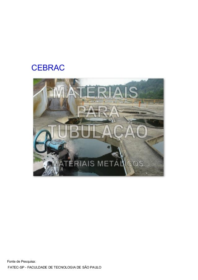 CEBRAC Fonte de Pesquisa: FATEC-SP - FACULDADE DE TECNOLOGIA DE S€O PAULO
