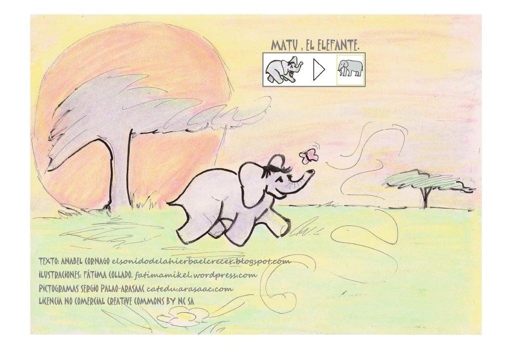 Matu el elefante anabel cornago+fat+arasaac