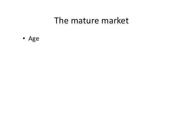 Mature Market 3