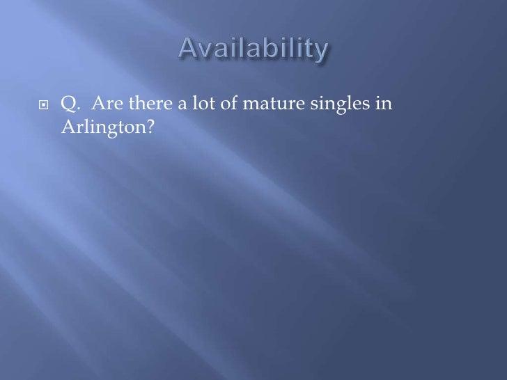 north arlington mature personals Find meetups in arlington singles meetups in arlington we're 3,969 mature singles dancing singles mingle.