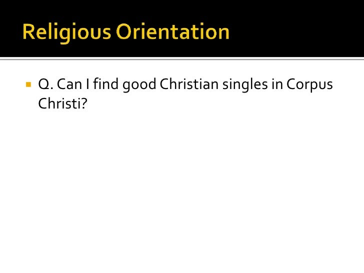 Corpus christi personals