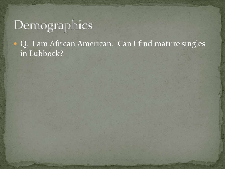singles in lubbock