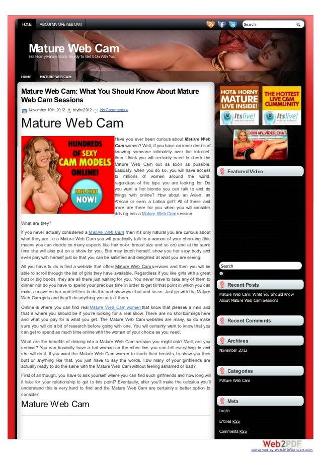 mature web cam thai massasje asker