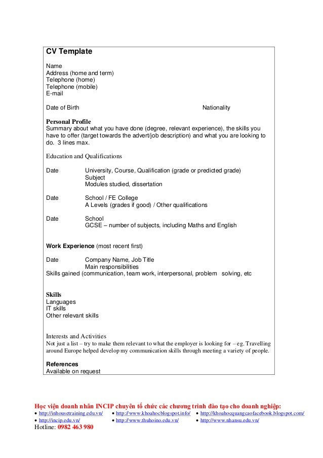 Professional resume for college student sample objective it help with  writing a examples graduate school good
