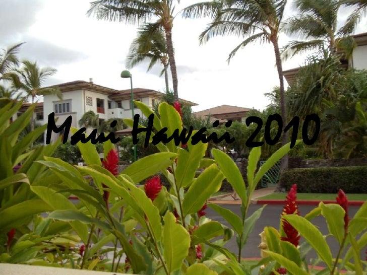 Maui Hawaii 2010<br />