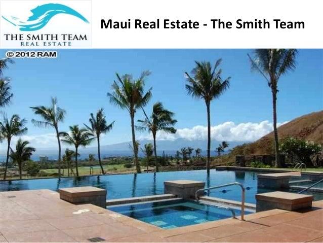 Maui Real Estate - The Smith Team