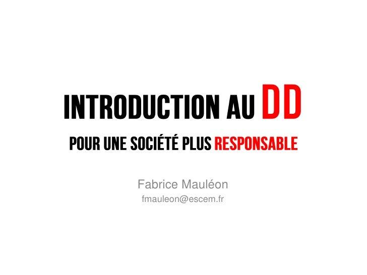 Fabrice Mauléonfmauleon@escem.fr