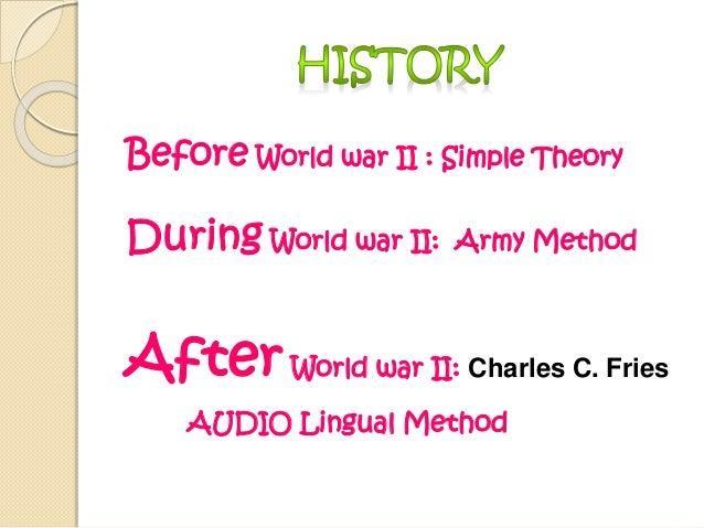 audio lingual method advantages and disadvantages pdf