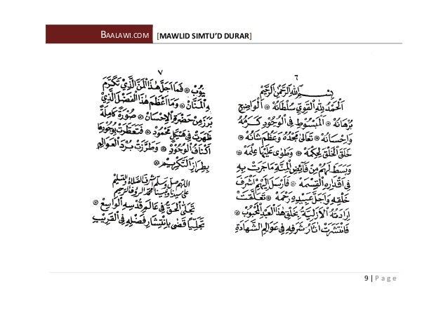 download maulid al habsyi pdf