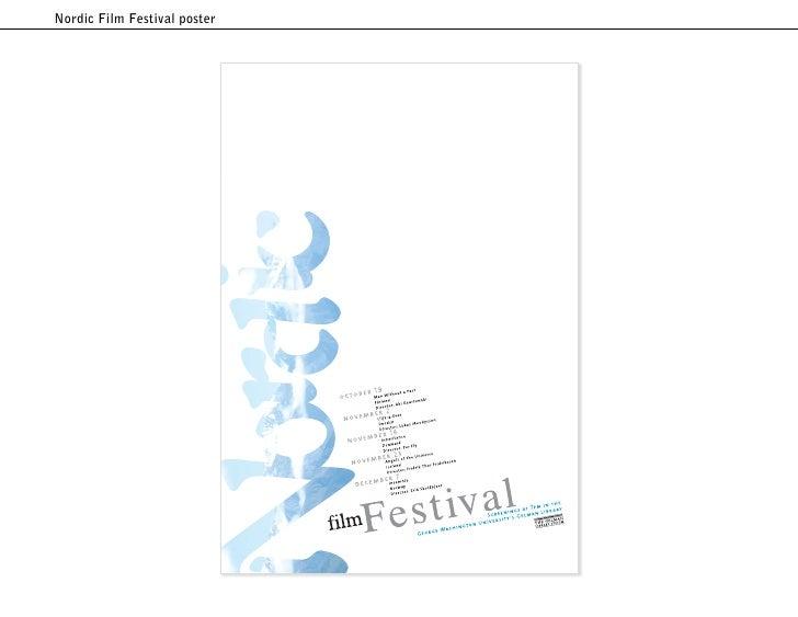 Nordic Film Festival poster