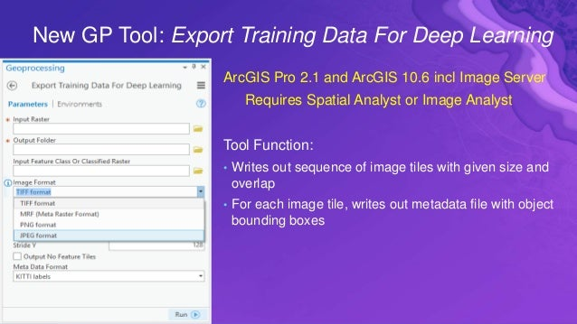 Toward Easy Export of Imagery Products and Feature Classes