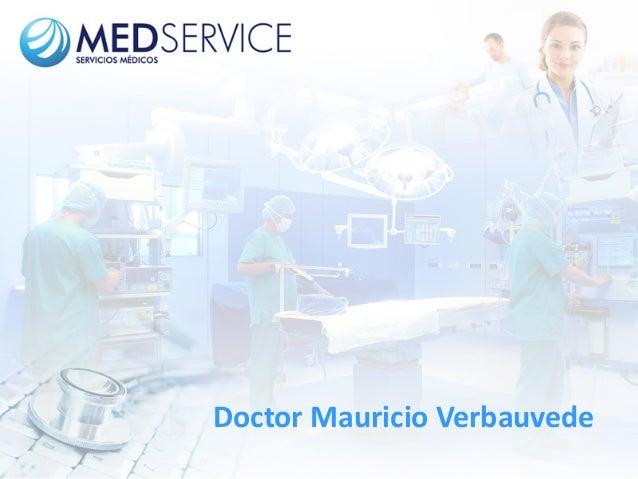 Doctor Mauricio Verbauvede