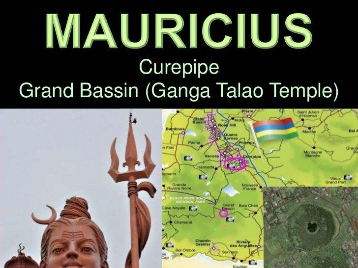 CurepipeGrand Bassin (Ganga Talao Temple)