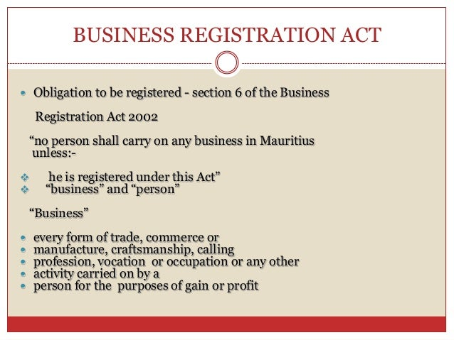 Mauritius - Making it Easy to Start a Business