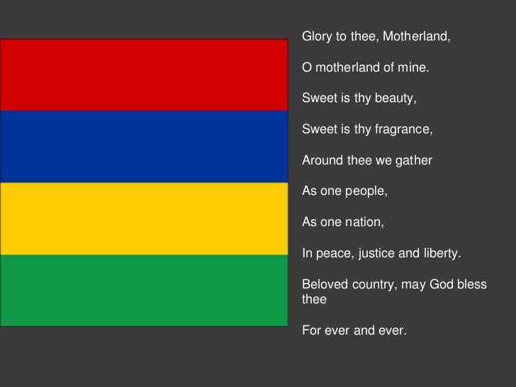 Mauritius Sprache