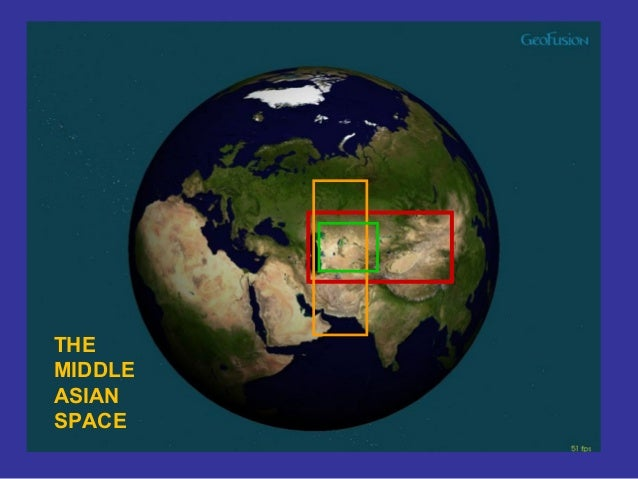 THE MIDDLE ASIAN SPACE