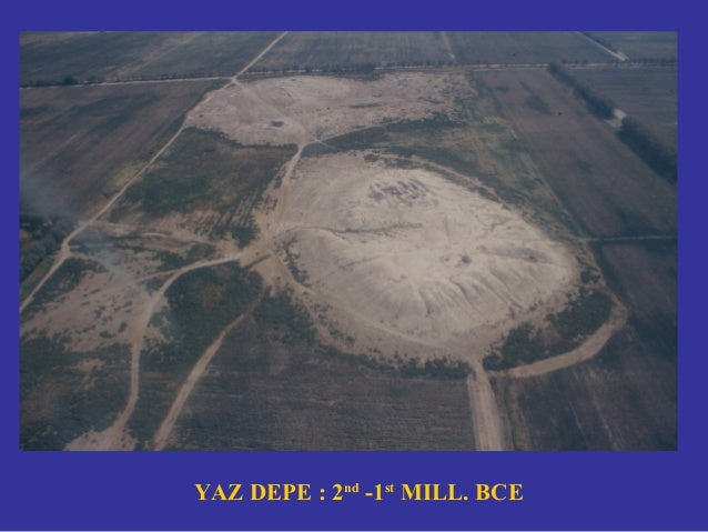 MULLALI DEPE SECTIONS ACROSS CHALCOLITHIC CANALS